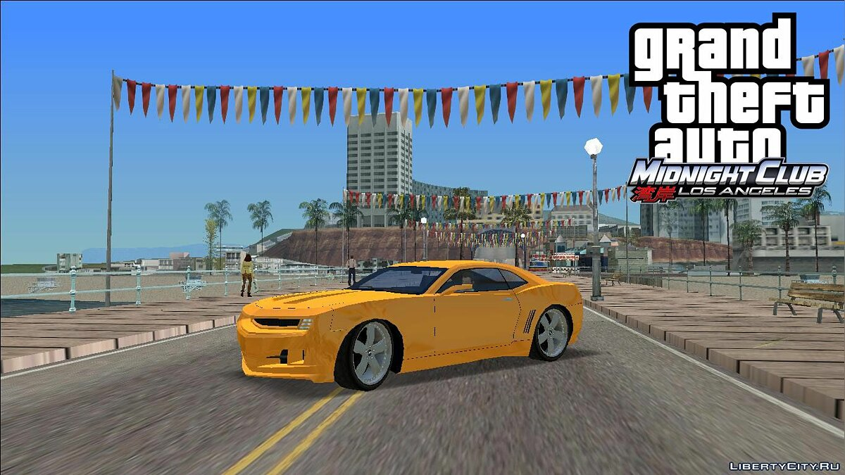 Car MCLA '07 Camaro for GTA Vice City