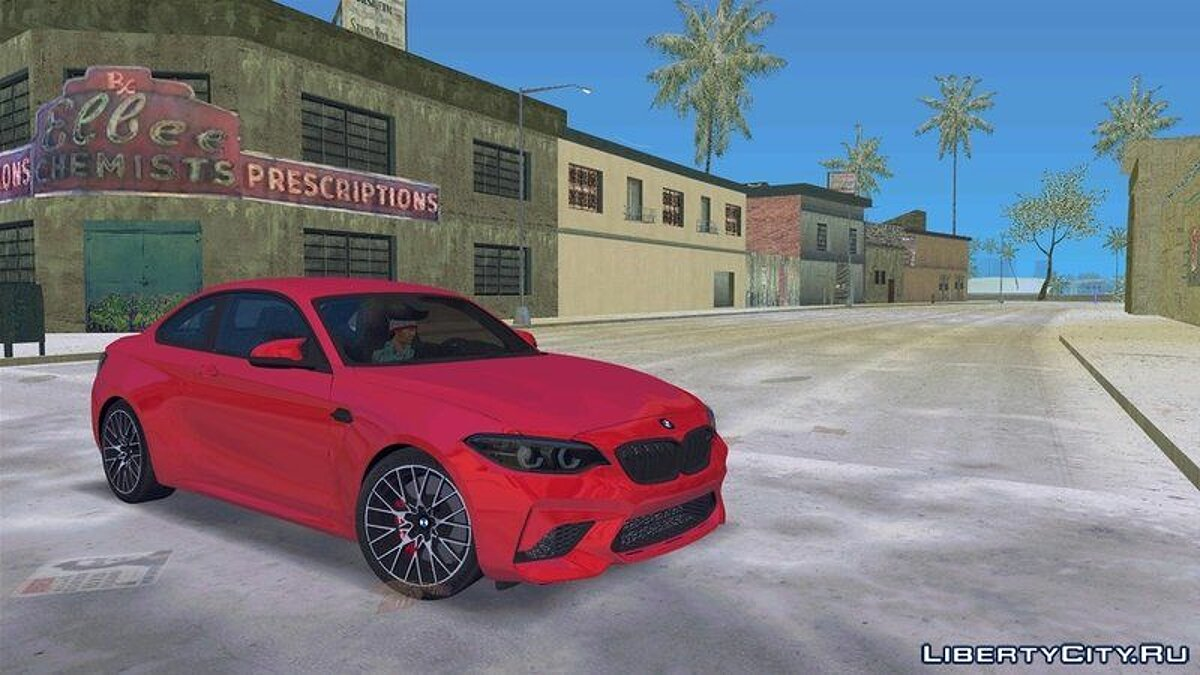 Car BMW M2 Competition 2018 for GTA Vice City