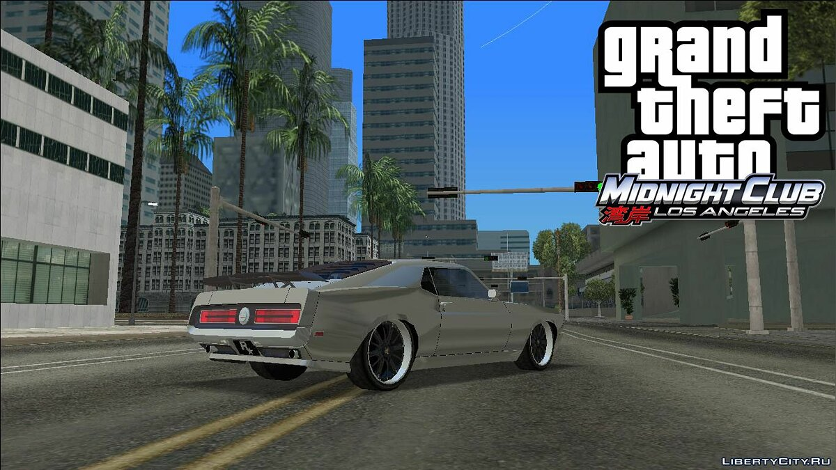 Car MCLA '69 Mustang for GTA Vice City