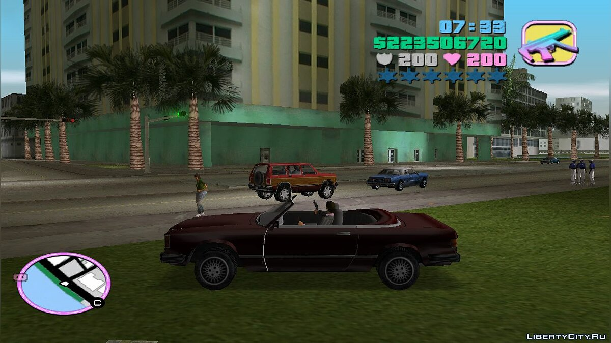 Car Felizer from GTA SA in the style of VC for GTA Vice City