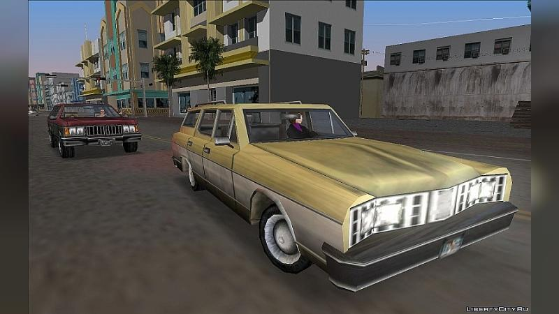 Car GTA VCS Perennial in GTA VC Style for GTA Vice City