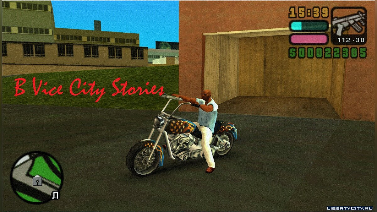 Car texture Motorcycle Bikers from Vice City Stories for GTA Vice City