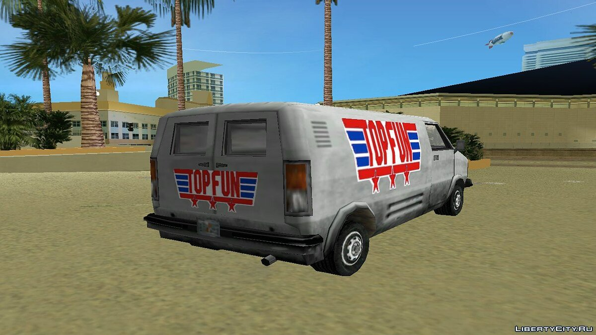 Car texture Topfun beta for GTA Vice City