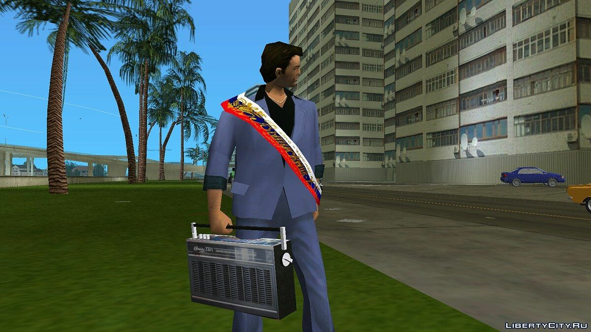 New character Graduate for GTA Vice City