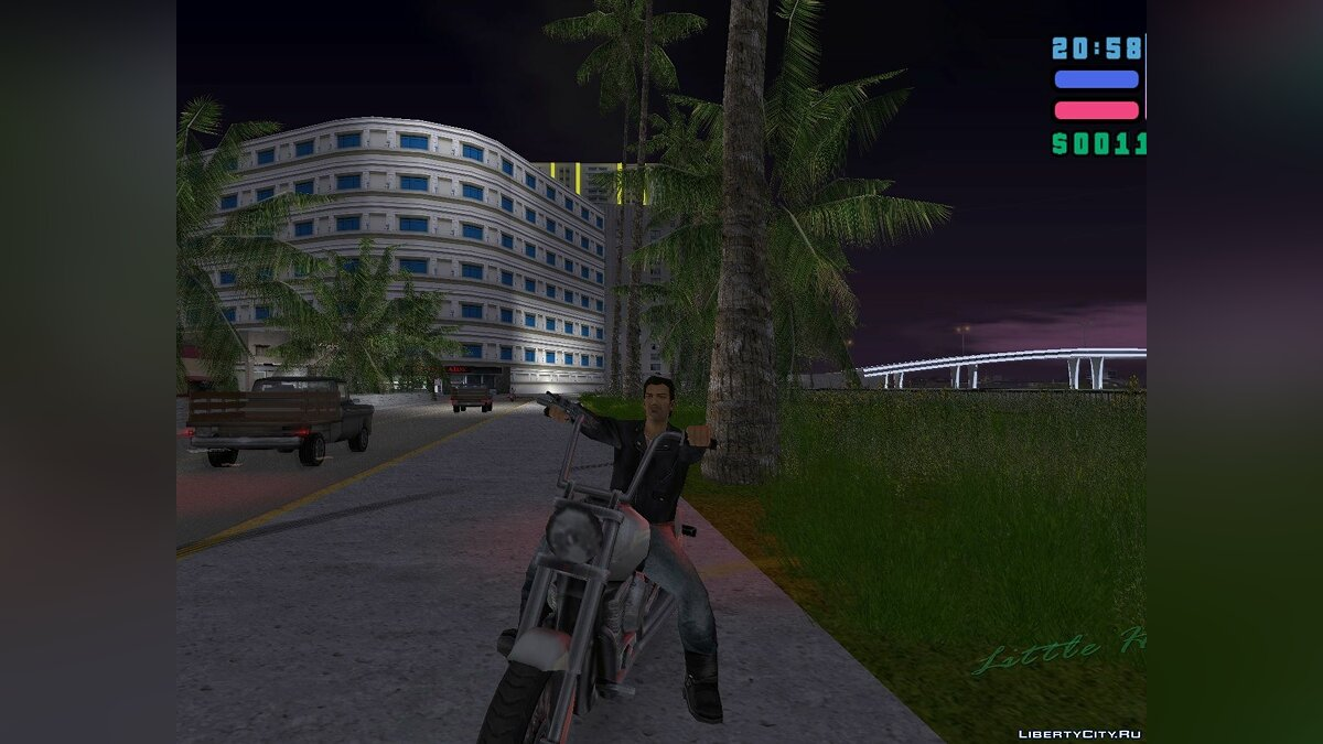 New character MC Tommy Retextured for GTA Vice City
