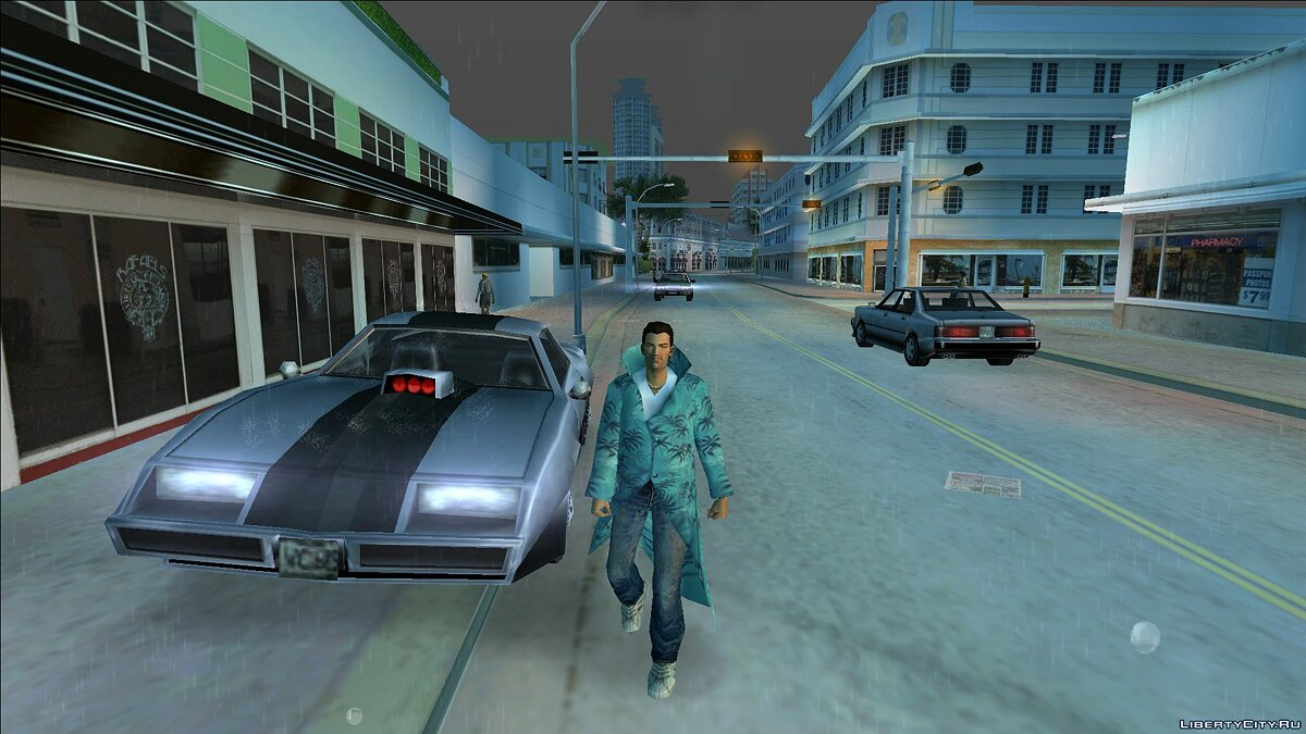 New character Cloak for Tommy Vercetti for GTA Vice City