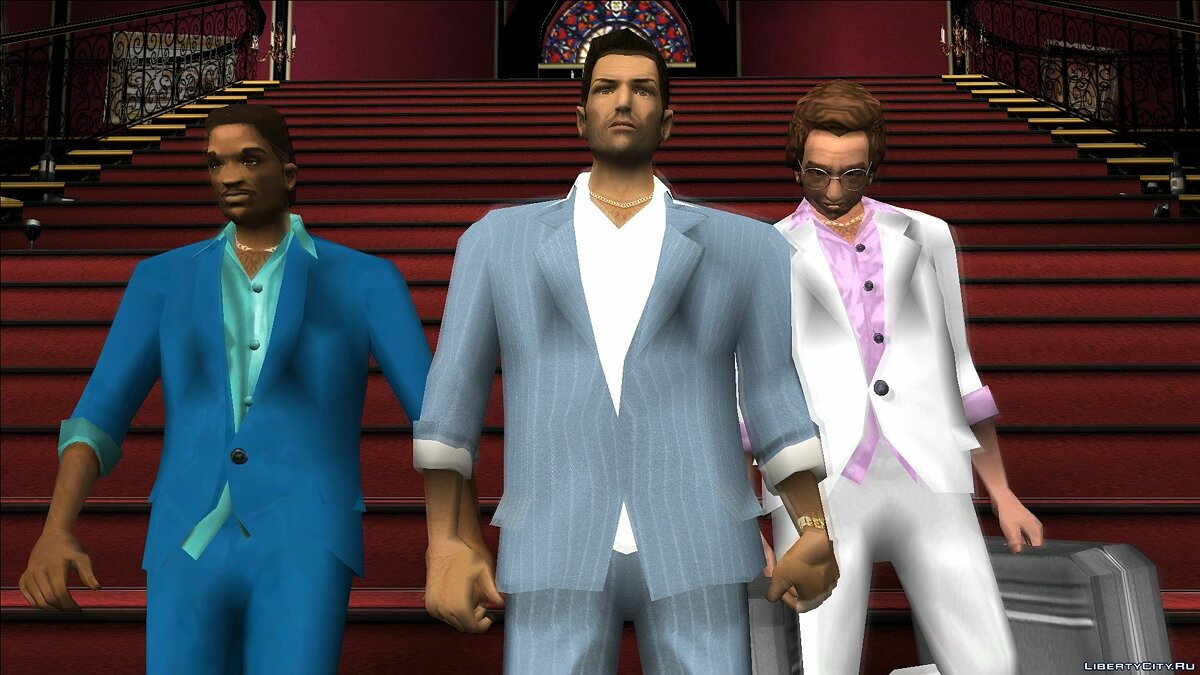 New character VCS Style Suits for GTA Vice City