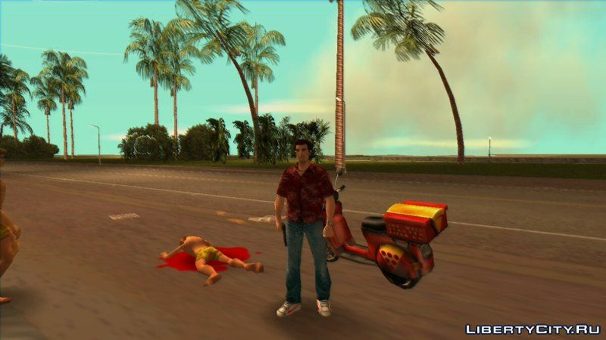 New character Pizza deliveryman for GTA Vice City