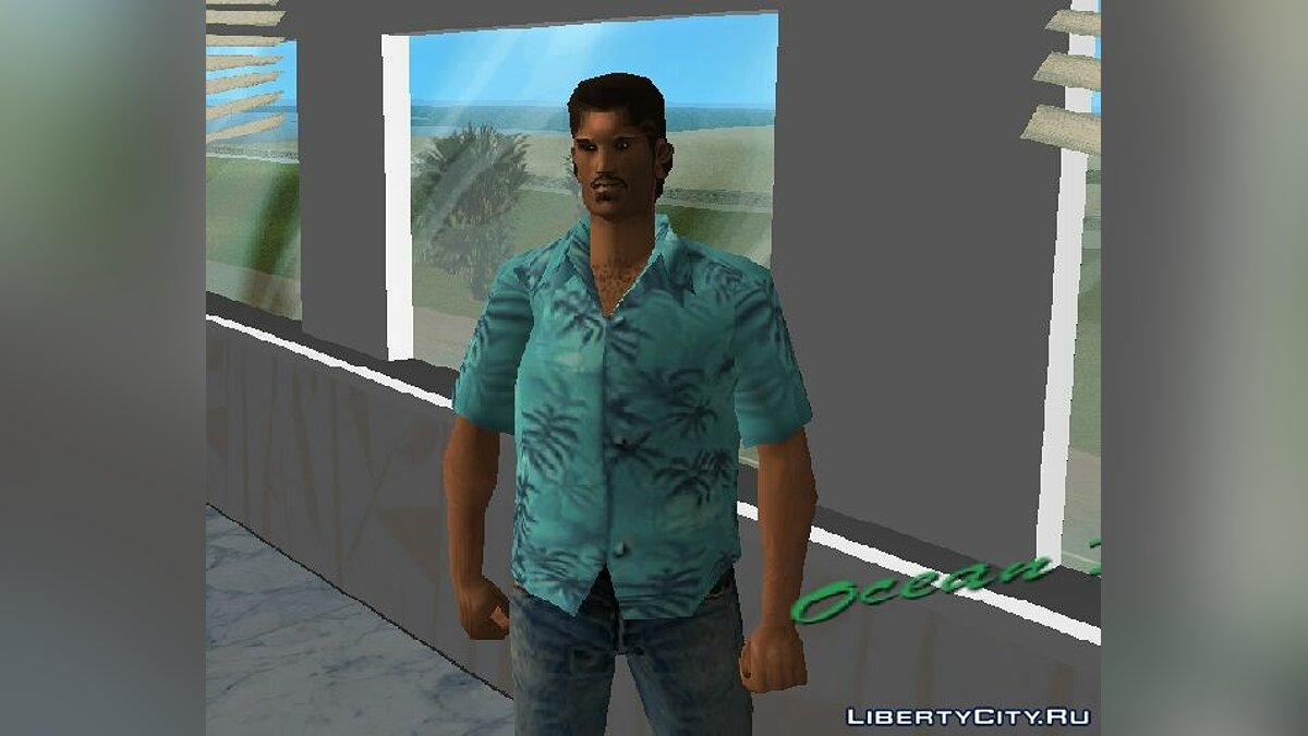 New character TOMMYxLENS for GTA Vice City