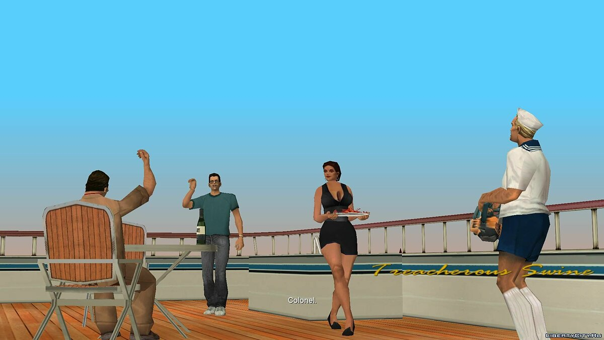 New character Tommy with glasses for GTA Vice City