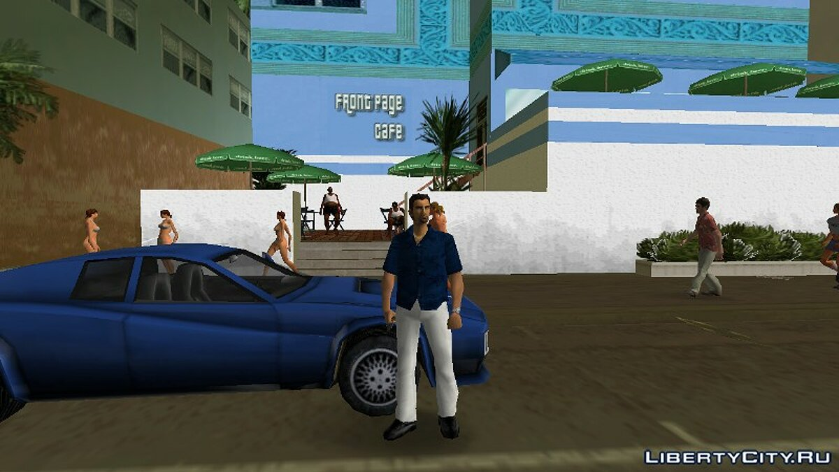 New character Front Page Cafe Guard for GTA Vice City