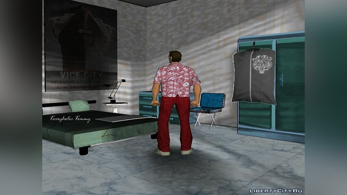 New character Melancholic and Taxogholic Tommy for GTA Vice City