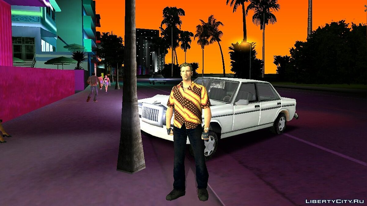 New character Tommy's Batik Clothes for PC / Android for GTA Vice City