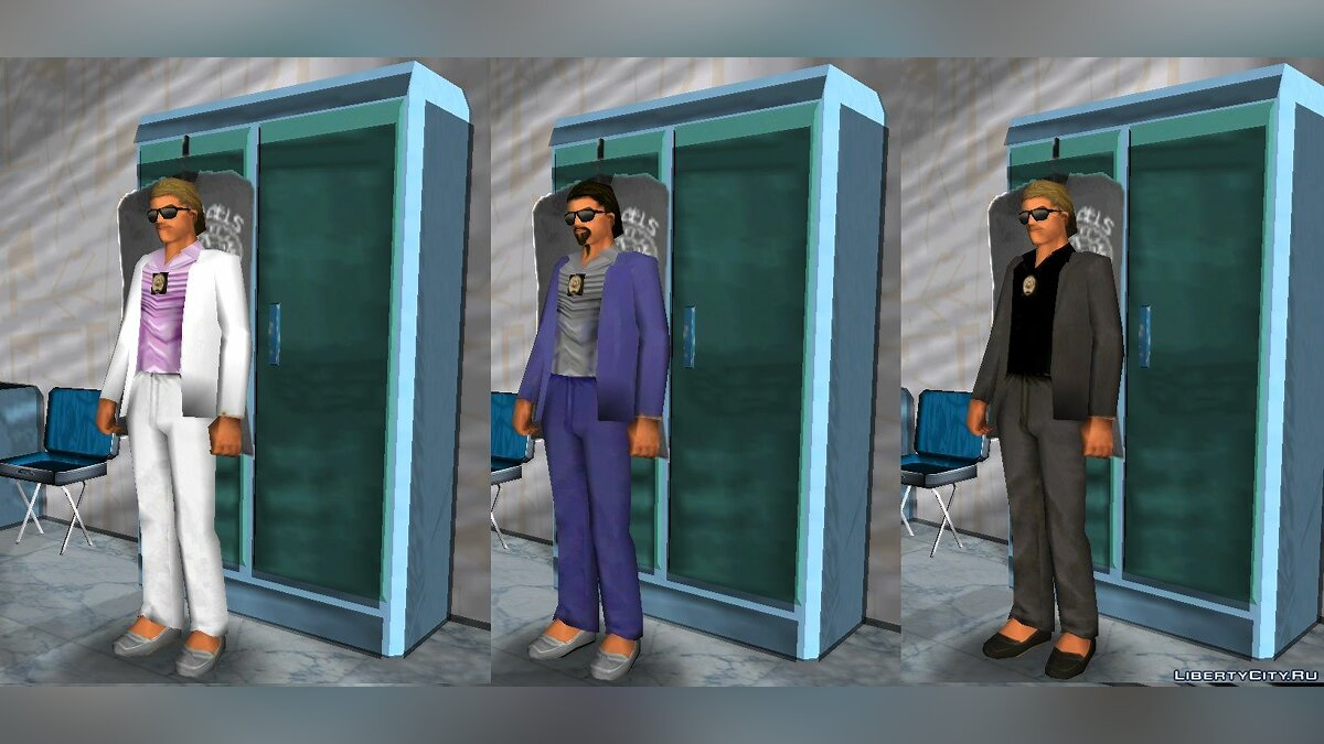 New character Police Miami Detective for GTA Vice City