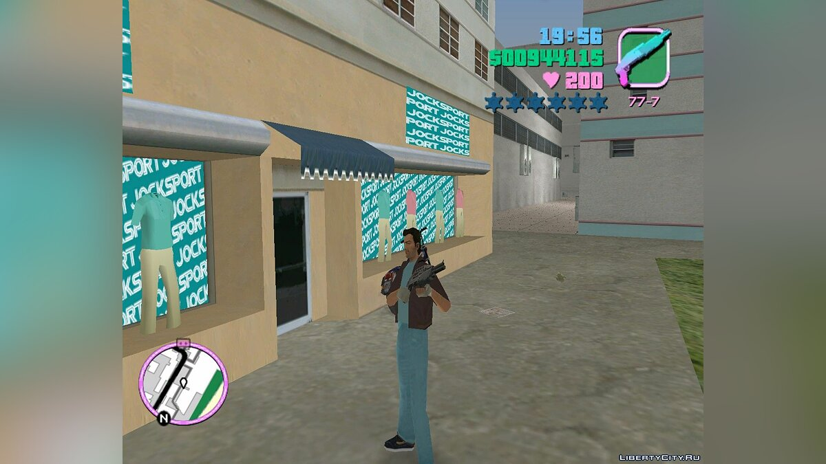 New character Jacket for GTA Vice City for GTA Vice City