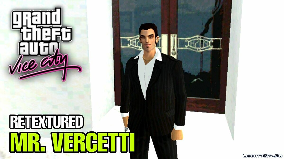 New character Tommy Retextured (Claude-Style) for PC / Android for GTA Vice City