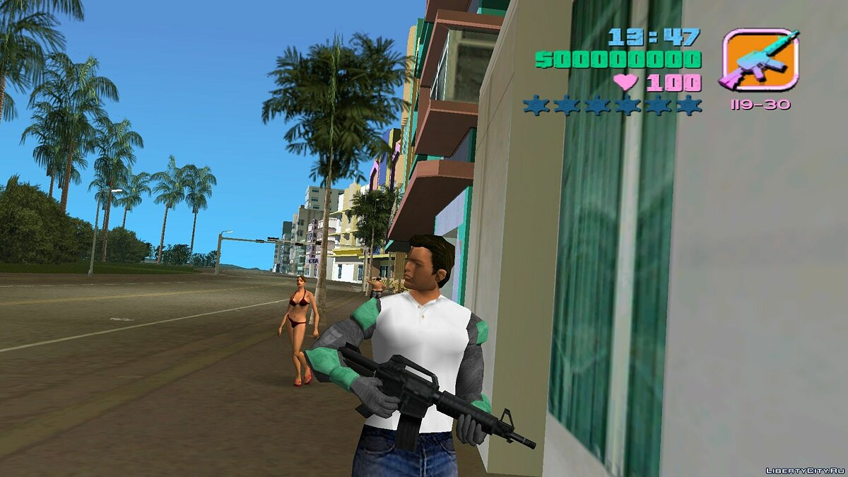 New character Iron Fists - IronFist for GTA Vice City