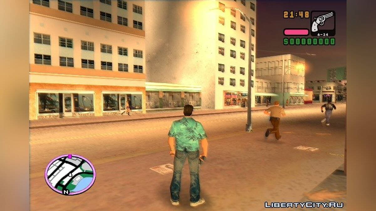 File Stories HUD HD 2.0 for GTA Vice City