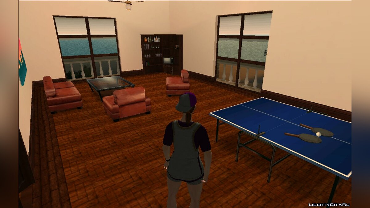 New district Diaz's room from GTA VCS for GTA Vice City