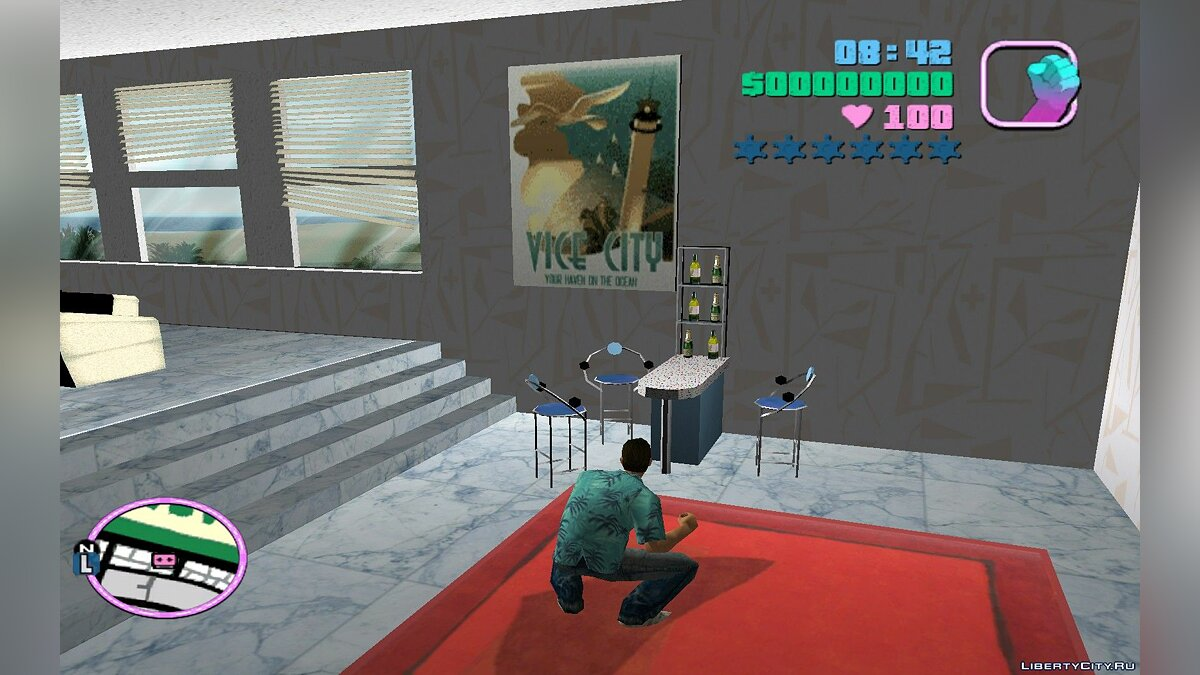 New district 4 floors of the hotel & quot; Ocean View & quot; for GTA Vice City