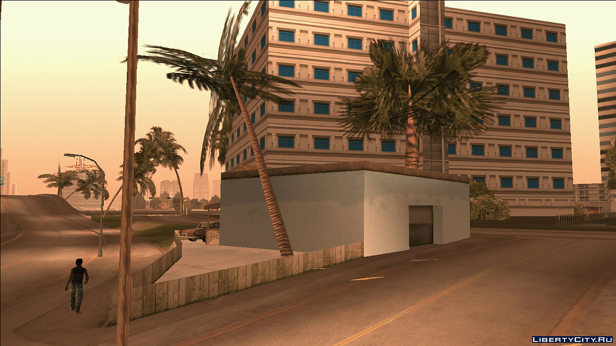 New district Le Singe d'Arbre Cafe from GTA VCS for GTA Vice City