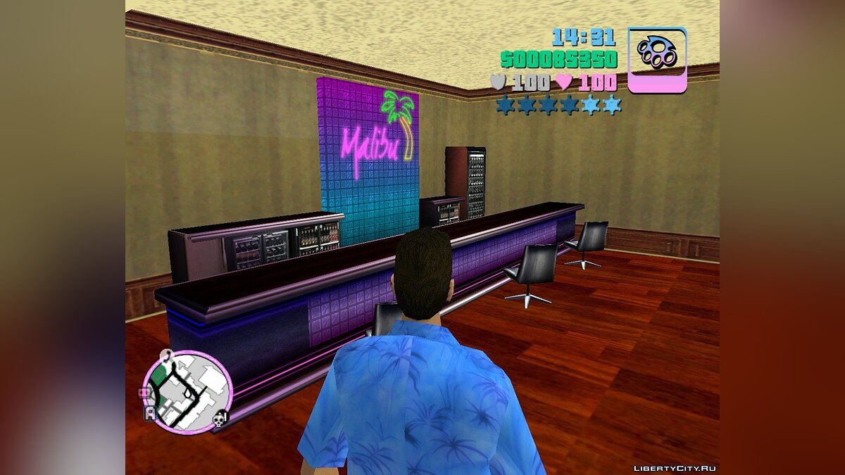 New district Bar for GTA Vice City