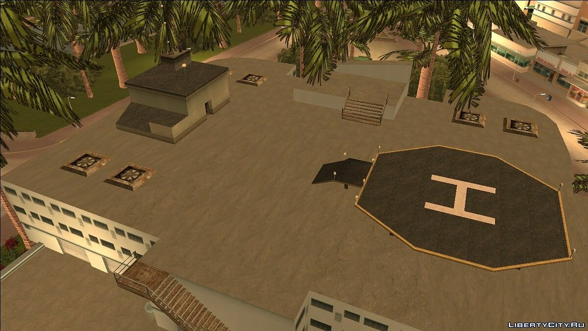 New district VCS Buildings n 'Props (Alpha) for GTA Vice City