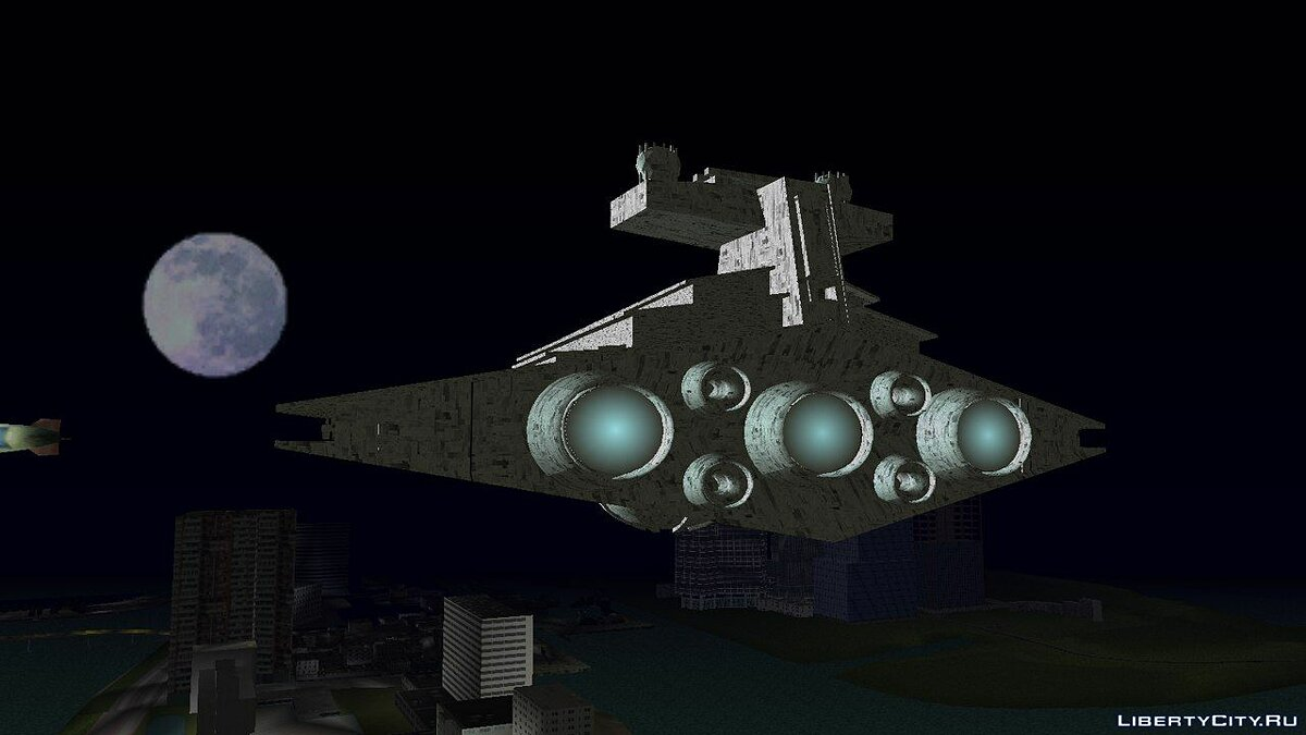 New district Star Destroyer for GTA Vice City