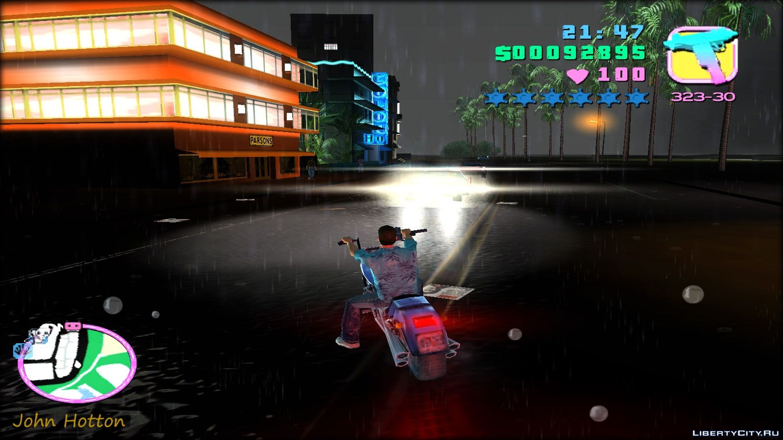 ENB mods for GTA Vice City: 25 ENB mod for GTA Vice City