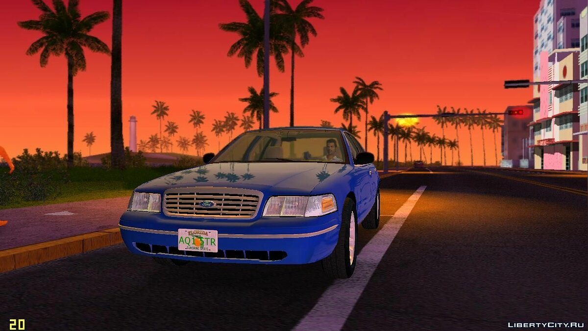 ENB mod ENBSeries by FORD LTD LX for GTA Vice City