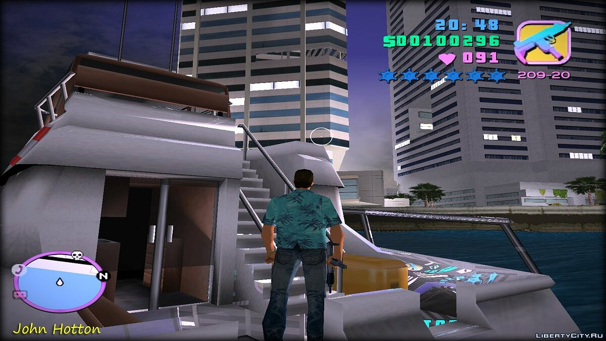 ENB mod New Graphics 2.5 for Vice City for GTA Vice City