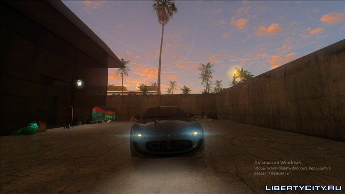 ENB mod Render HD Graphics X 2.1 for GTA Vice City