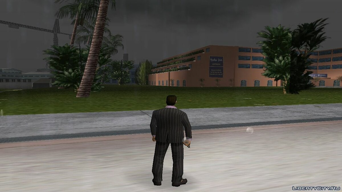 Fan video Comparison of Vice City and Vice City Stories (City) for GTA Vice City