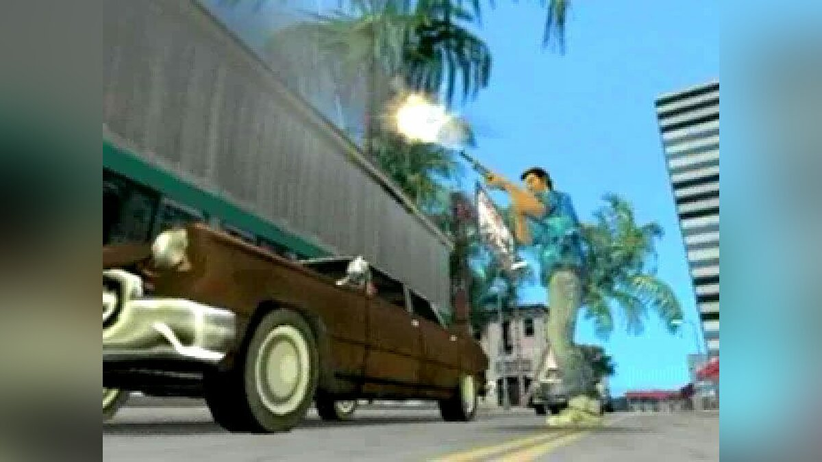 Gameplay video Chrome Shotgun Video for GTA Vice City