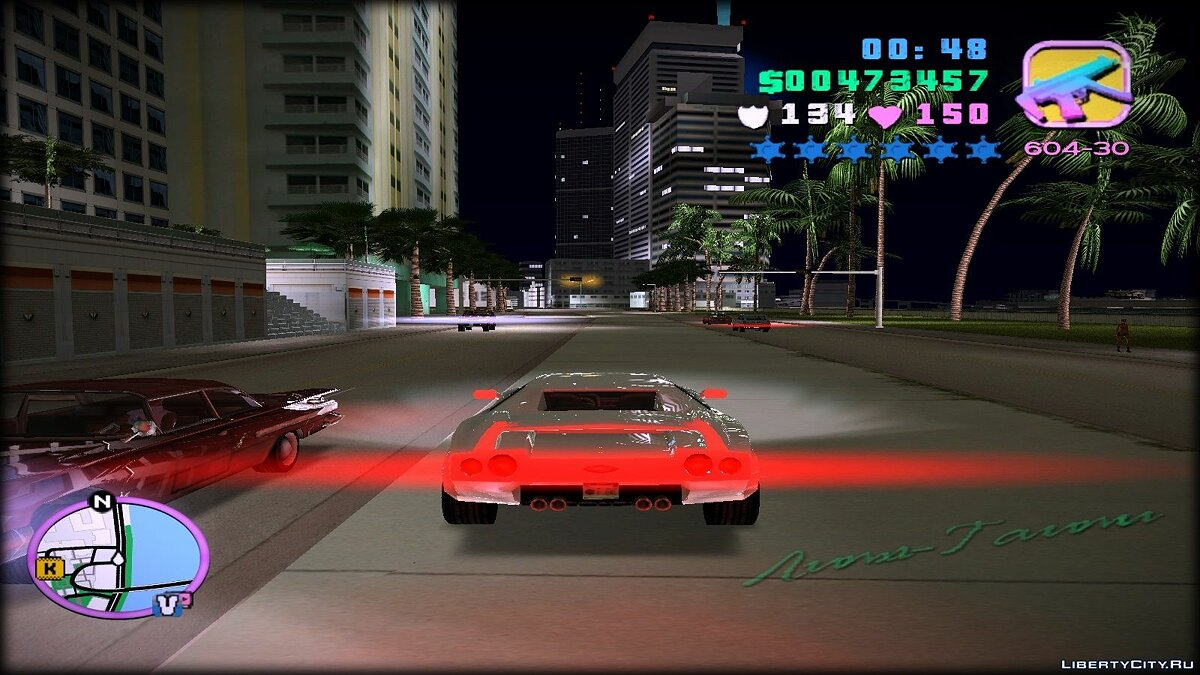 Re-textured Vice City 0.6 for GTA Vice City - screenshot #7