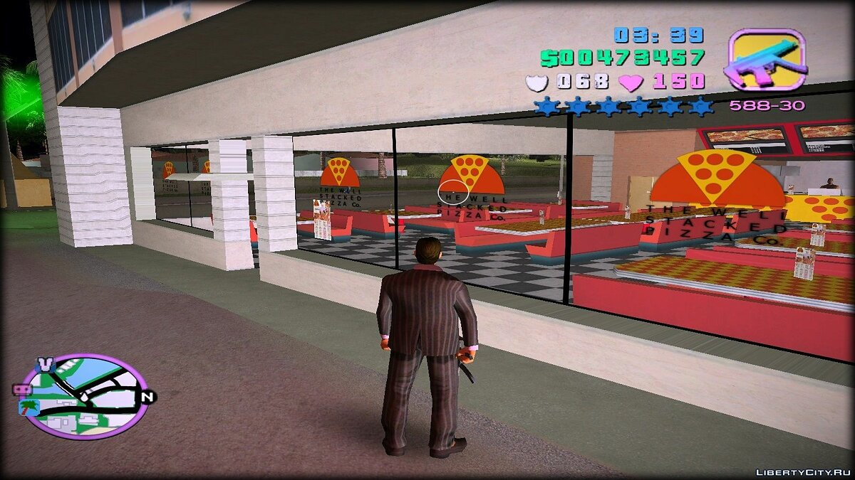 Re-textured Vice City 0.6 for GTA Vice City - screenshot #10