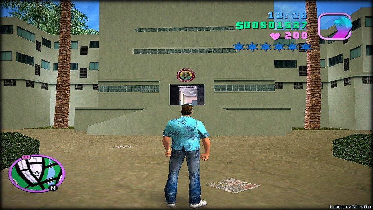 Re-textured Vice City 0.6 for GTA Vice City - screenshot #12
