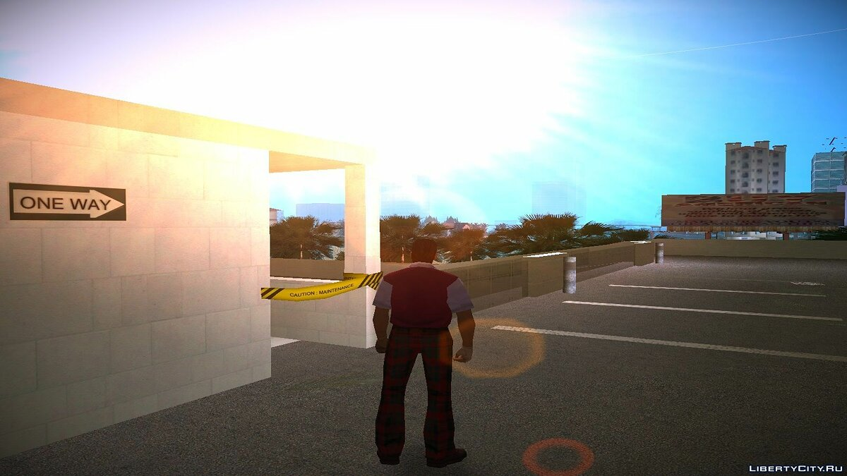 Re-textured Vice City 0.6 for GTA Vice City - screenshot #3