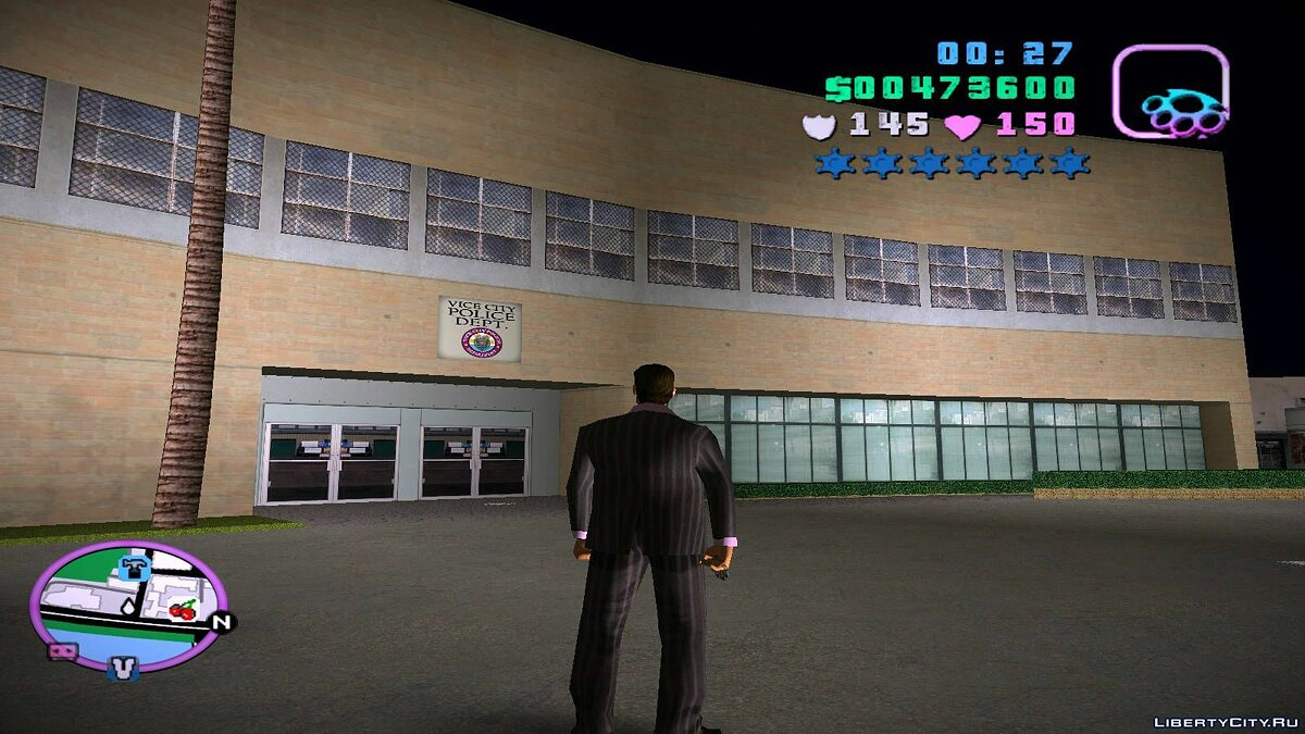 Global mod Re-textured Vice City 0.6 for GTA Vice City