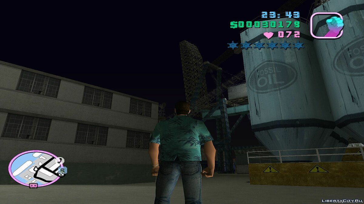 Re-textured Vice City 0.6 for GTA Vice City - screenshot #4