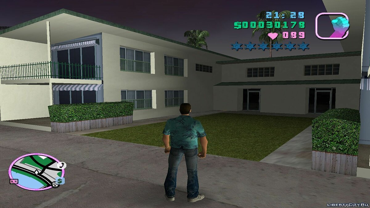Re-textured Vice City 0.6 for GTA Vice City - screenshot #2