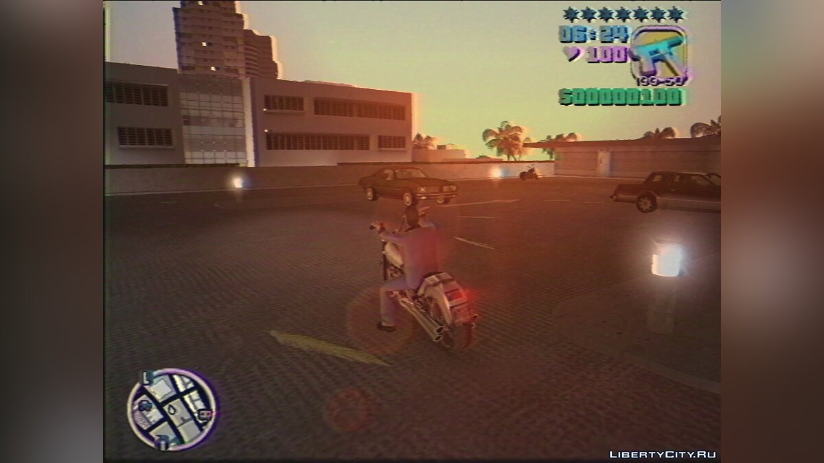 Global mod GTA Vice City VHS Edition for GTA Vice City