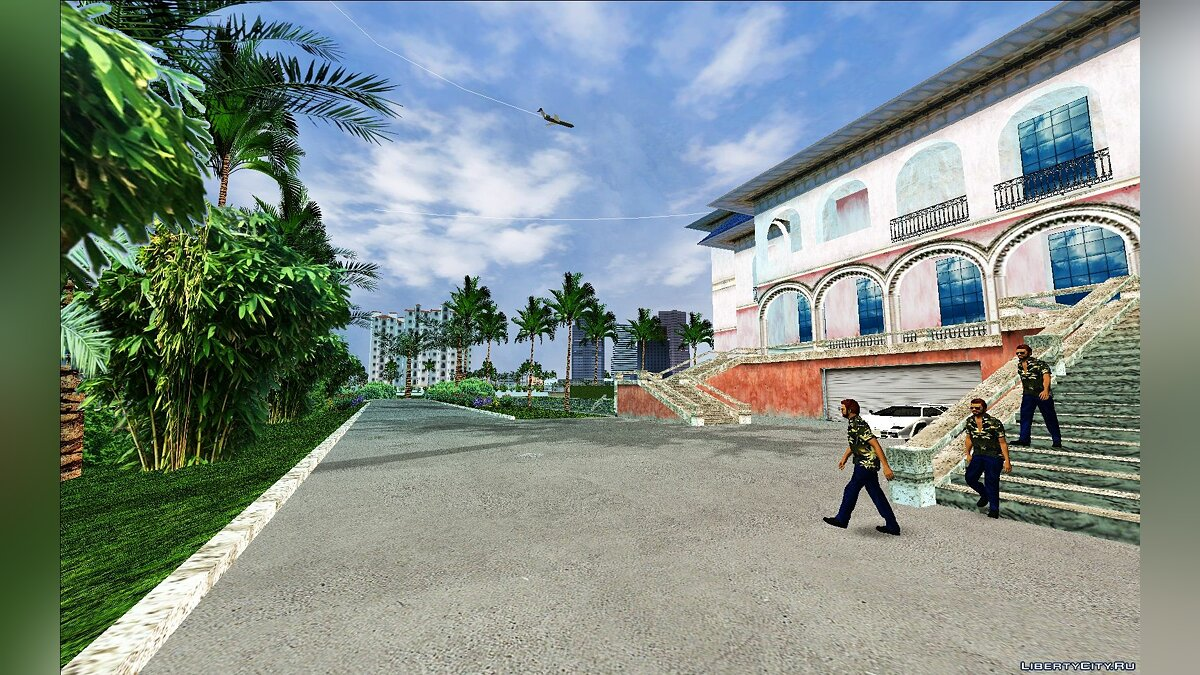 Global mod Grand Theft Auto: Vice City Re-Texd v1.0 for GTA Vice City