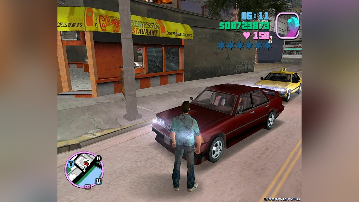 GTA VC Beta peds and cars for GTA Vice City - screenshot #3