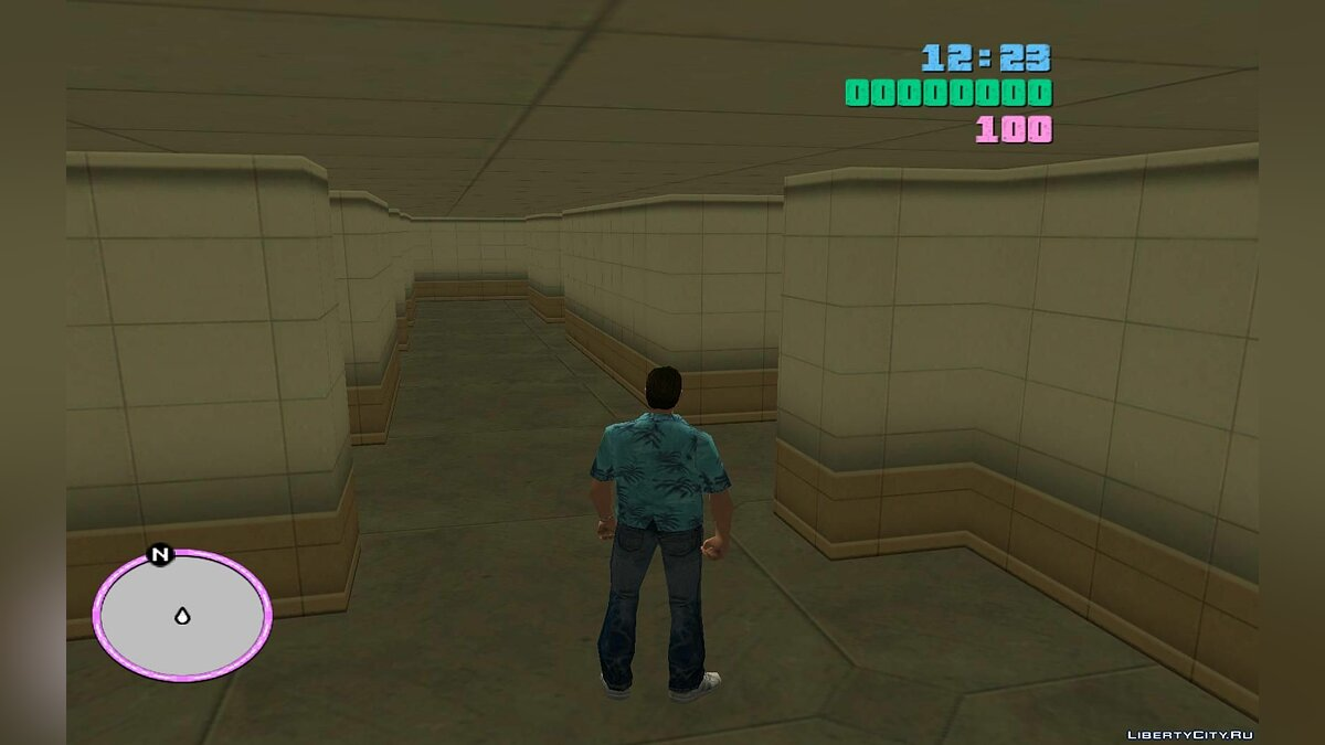 Global mod Unique maze for GTA Vice City