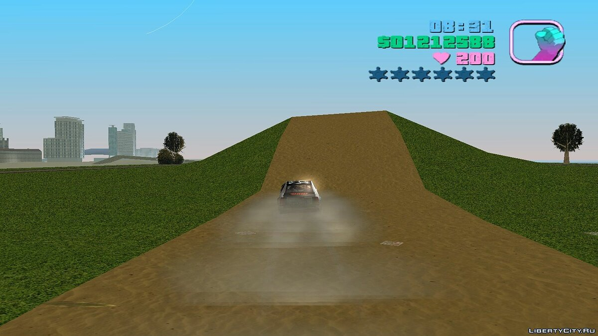 New islands Racing track for GTA Vice City
