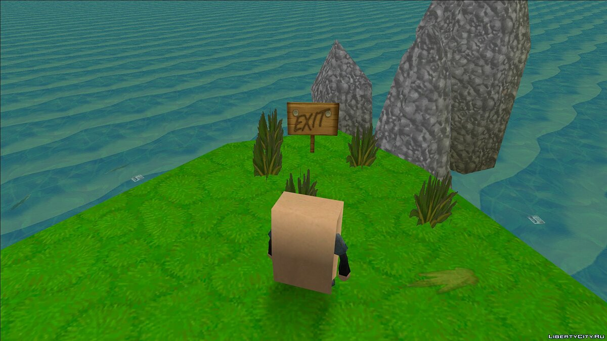New islands Garbage island for GTA Vice City