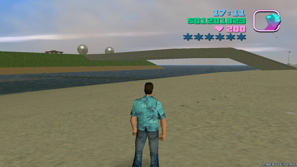 New islands Water ostrow for GTA Vice City