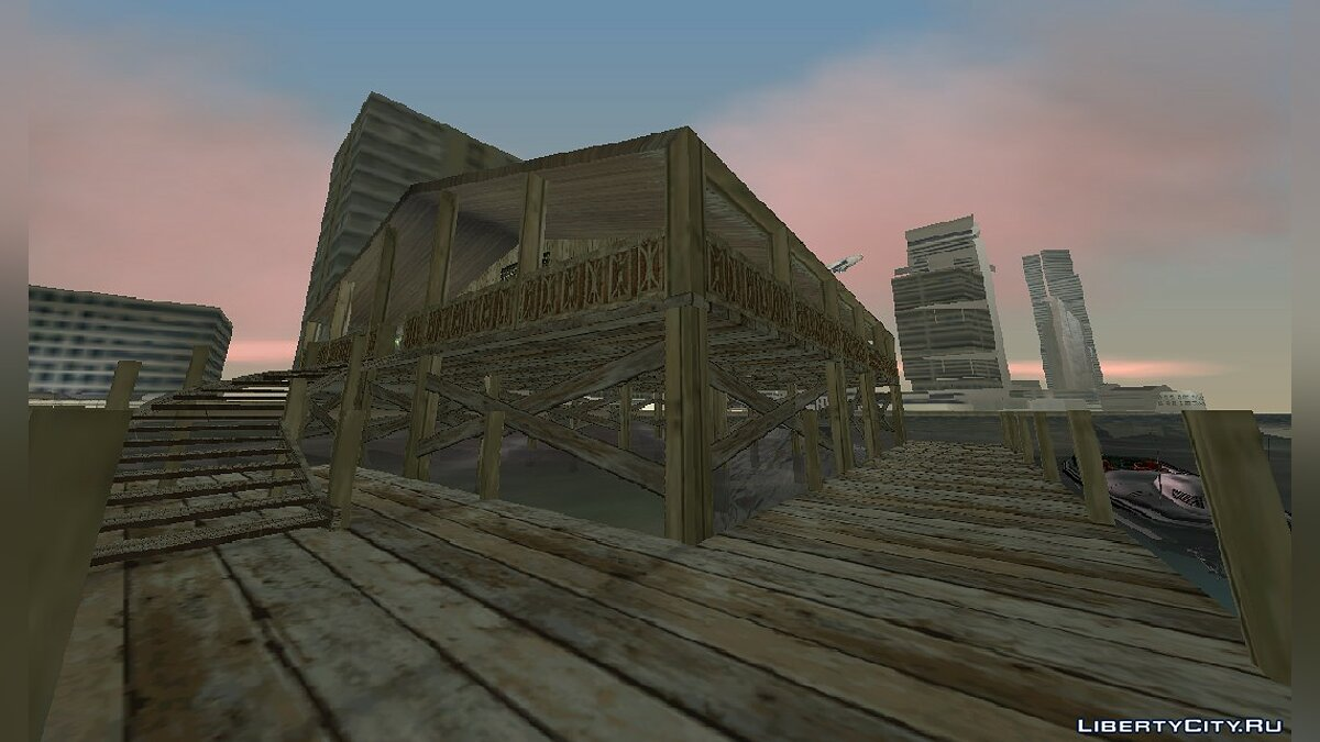 New islands House on water v2 by AnriTool for GTA Vice City
