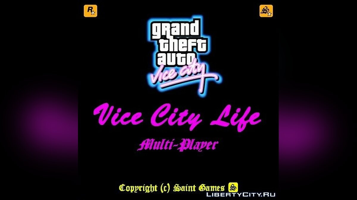 Multiplayer mod Vice City Life 0.1 beta RC 2-8-7 for GTA Vice City